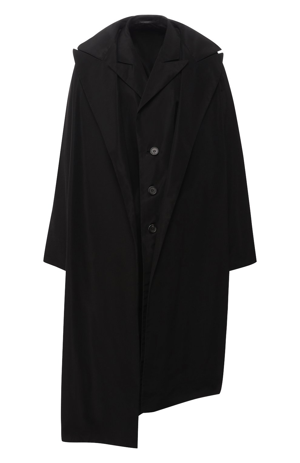 Пальто асимметричного кроя | Фото №1