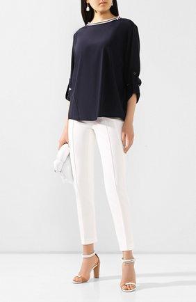 Женские брюки ESCADA белого цвета, арт. 5024888 | Фото 2