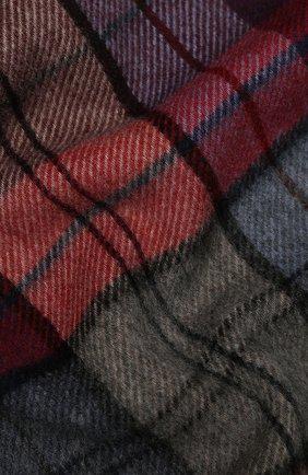 Мужской кашемировый шарф ANDREA CAMPAGNA бордового цвета, арт. 632349/SCARF | Фото 2