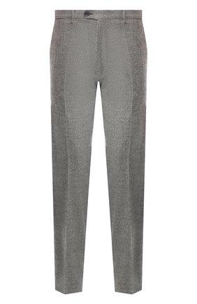 Мужской брюки из смеси шерсти и кашемира ANDREA CAMPAGNA серого цвета, арт. SC/1/LP3007   Фото 1