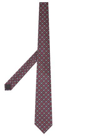 Мужской шелковый галстук GUCCI разноцветного цвета, арт. 545072/4E002 | Фото 2 (Материал: Текстиль; Принт: С принтом)
