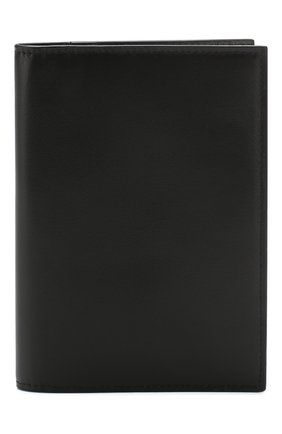 Мужская кожаная обложка для паспорта BRIONI черного цвета, арт. 0HQS0L/07710 | Фото 1