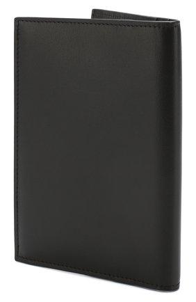 Мужская кожаная обложка для паспорта BRIONI черного цвета, арт. 0HQS0L/07710 | Фото 2