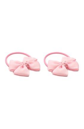 Детская комплект из двух резинок simple go JUNEFEE розового цвета, арт. 4876 | Фото 2