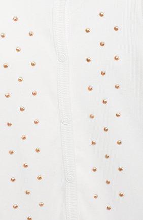Детского комплект на выписку белуга CHEPE белого цвета, арт. 391018 | Фото 2