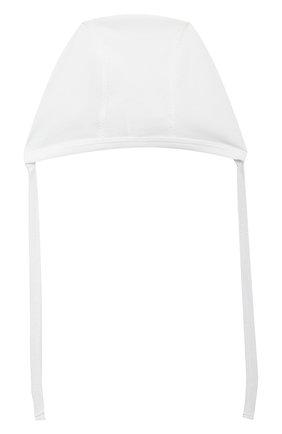 Детского комплект на выписку белуга CHEPE белого цвета, арт. 391018   Фото 11 (Материал внешний: Хлопок; Ростовка одежда: 0 - 3 мес   50 - 60 см)