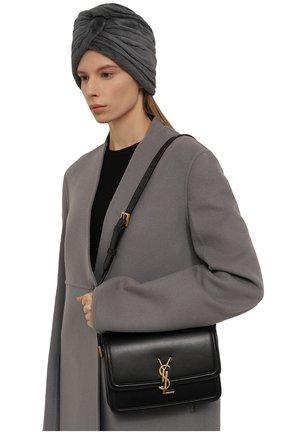 Женская шапка из меха норки KUSSENKOVV серого цвета, арт. 140110008272   Фото 2 (Материал: Натуральный мех; Статус проверки: Проверена категория)