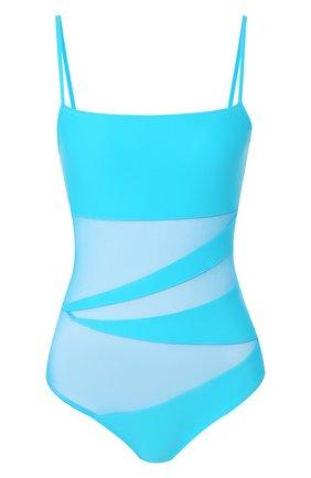 Женский слитный купальник NATAYAKIM бирюзового цвета, арт. NY-013 | Фото 1