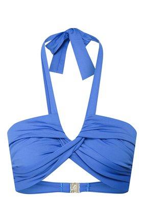 Женский бра c драпировкой NATAYAKIM голубого цвета, арт. NY-063T/19 | Фото 1
