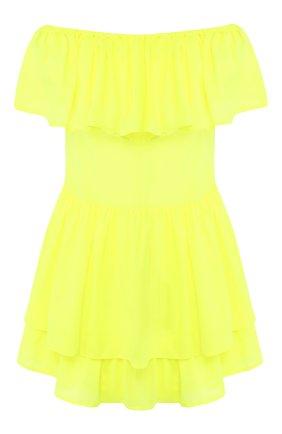 Мини-платье с оборками | Фото №1
