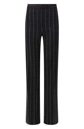 Шерстяные брюки в полоску | Фото №1