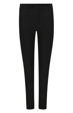 Женские укороченные вельветовые брюки J BRAND черного цвета, арт. JB001688 | Фото 1