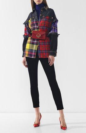 Женские укороченные вельветовые брюки J BRAND черного цвета, арт. JB001688 | Фото 2