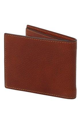 Мужской кожаное портмоне BRUNELLO CUCINELLI коричневого цвета, арт. MWZIU006 | Фото 2