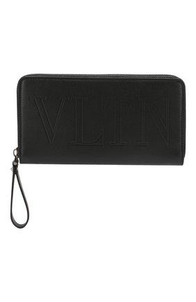 Кожаный футляр для документов Valentino Garavani | Фото №1