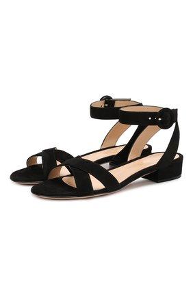 Замшевые сандалии Frida 20 | Фото №1
