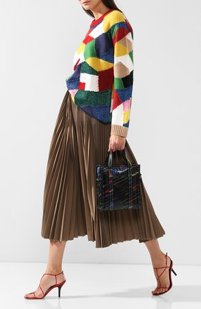 Сумка Bazar Shopper XS Balenciaga разноцветная цвета | Фото №2