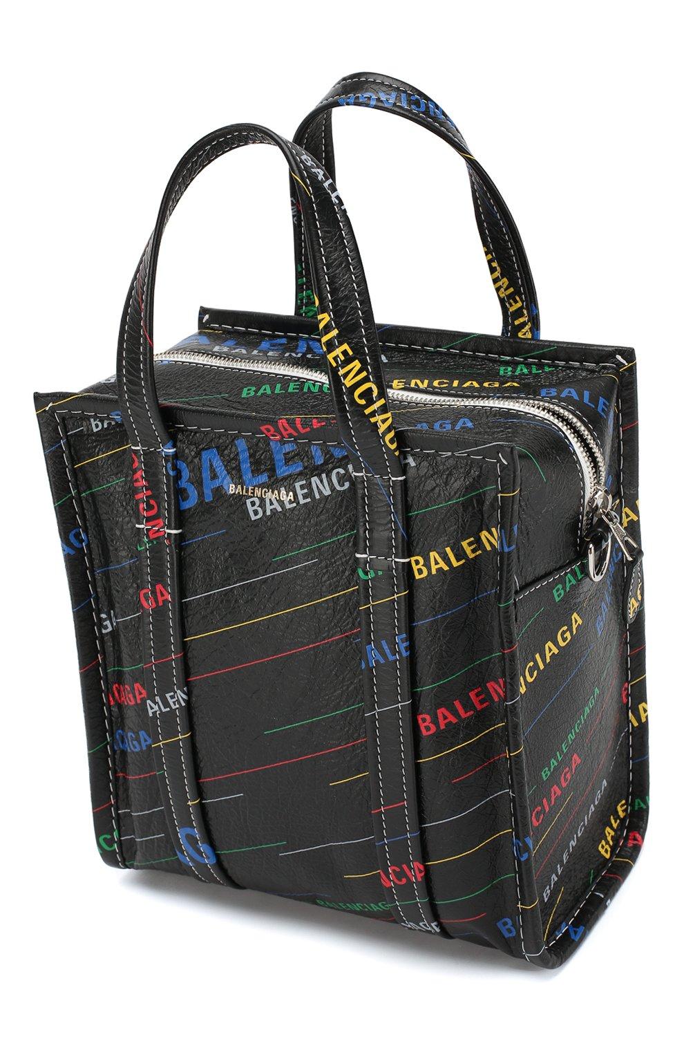 Сумка Bazar Shopper XS Balenciaga разноцветная цвета | Фото №4