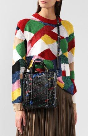 Сумка Bazar Shopper XS Balenciaga разноцветная цвета | Фото №5