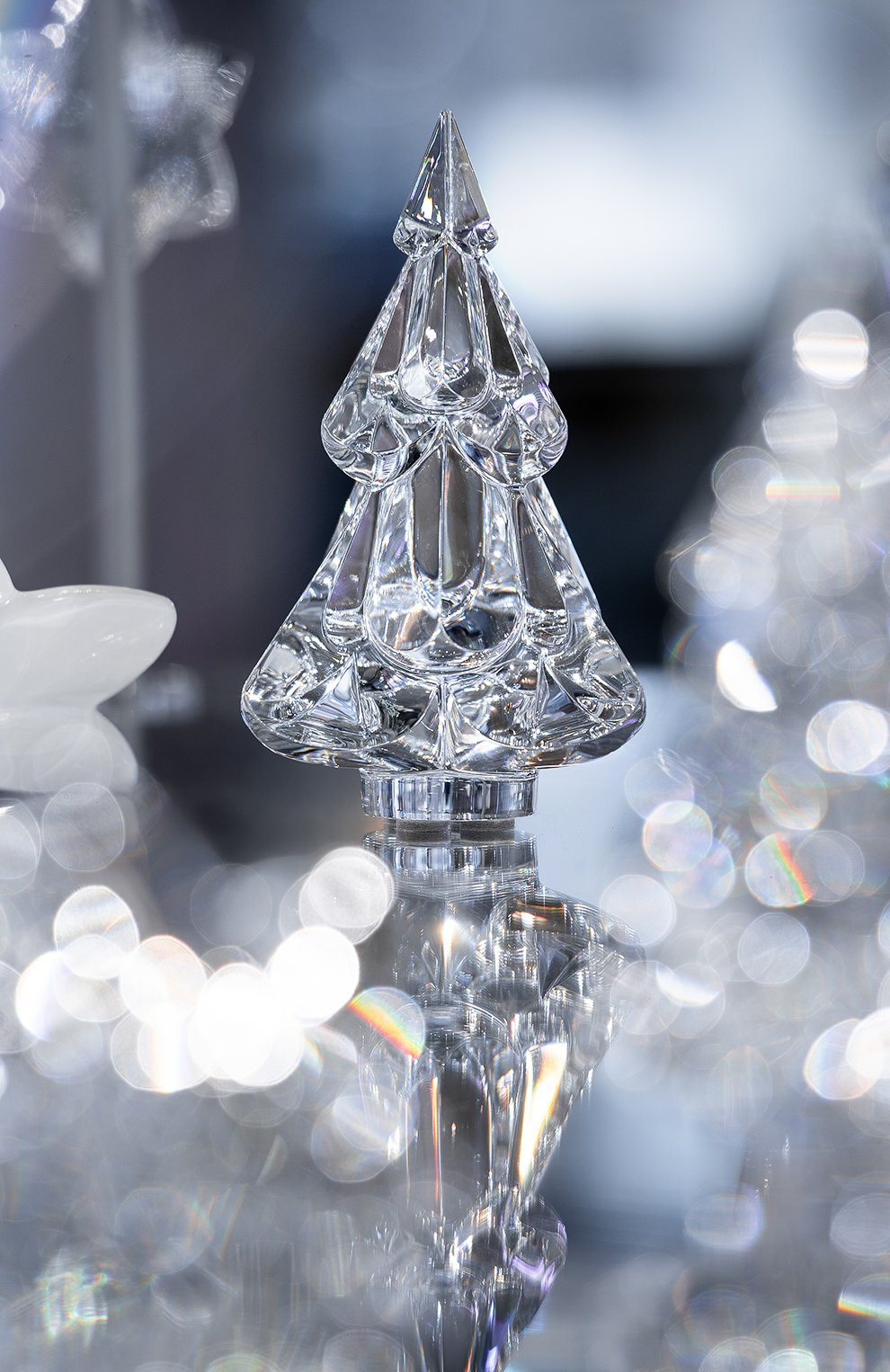 Скульптура снежная елка BACCARAT прозрачного цвета, арт. 2 812 247 | Фото 2
