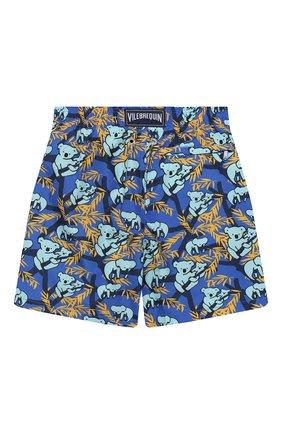 Детские плавки-шорты VILEBREQUIN синего цвета, арт. JHIE9JK3 | Фото 2