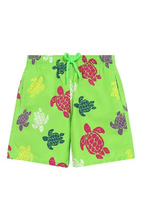Детские плавки-шорты VILEBREQUIN светло-зеленого цвета, арт. JIME9B37 | Фото 1