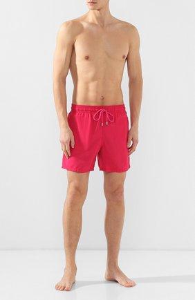 Мужские плавки-шорты VILEBREQUIN красного цвета, арт. MOOE9D03 | Фото 2