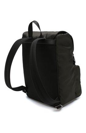 Текстильный рюкзак с двумя застежками | Фото №3