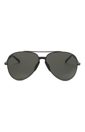 Мужские солнцезащитные очки BRIONI черного цвета, арт. BR0052 001   Фото 2