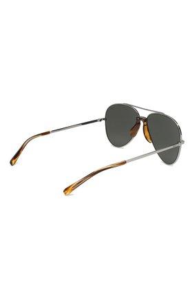 Мужские солнцезащитные очки BRIONI серого цвета, арт. BR0052 002 | Фото 3