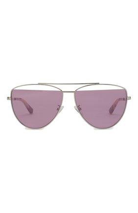 Женские солнцезащитные очки MCQ SWALLOW лилового цвета, арт. MQ0157 004 | Фото 2