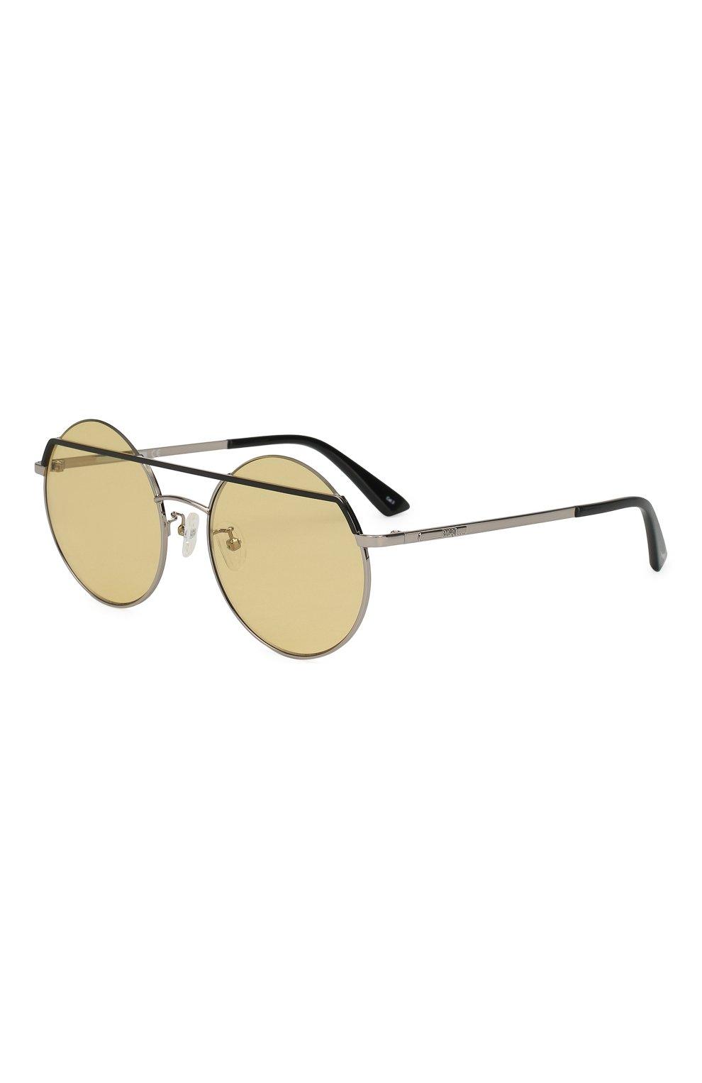 Женские солнцезащитные очки MCQ SWALLOW желтого цвета, арт. MQ0164 003 | Фото 1 (Очки форма: Круглые; Тип очков: С/з; Статус проверки: Проверено, Проверена категория)