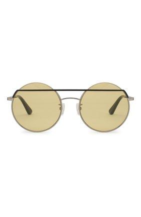 Женские солнцезащитные очки MCQ SWALLOW желтого цвета, арт. MQ0164 003 | Фото 3 (Очки форма: Круглые; Тип очков: С/з; Статус проверки: Проверено, Проверена категория)