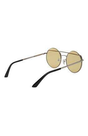 Женские солнцезащитные очки MCQ SWALLOW желтого цвета, арт. MQ0164 003 | Фото 4 (Очки форма: Круглые; Тип очков: С/з; Статус проверки: Проверено, Проверена категория)