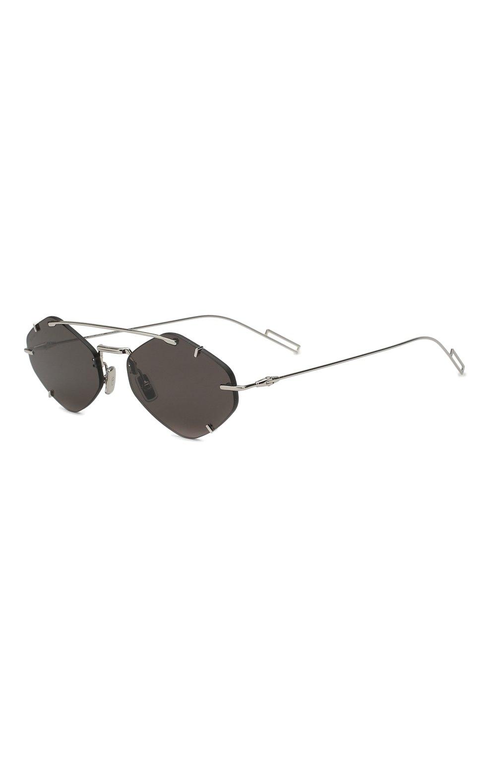 Женские солнцезащитные очки DIOR темно-серого цвета, арт. DI0RINCLUSI0N 010 2K | Фото 1