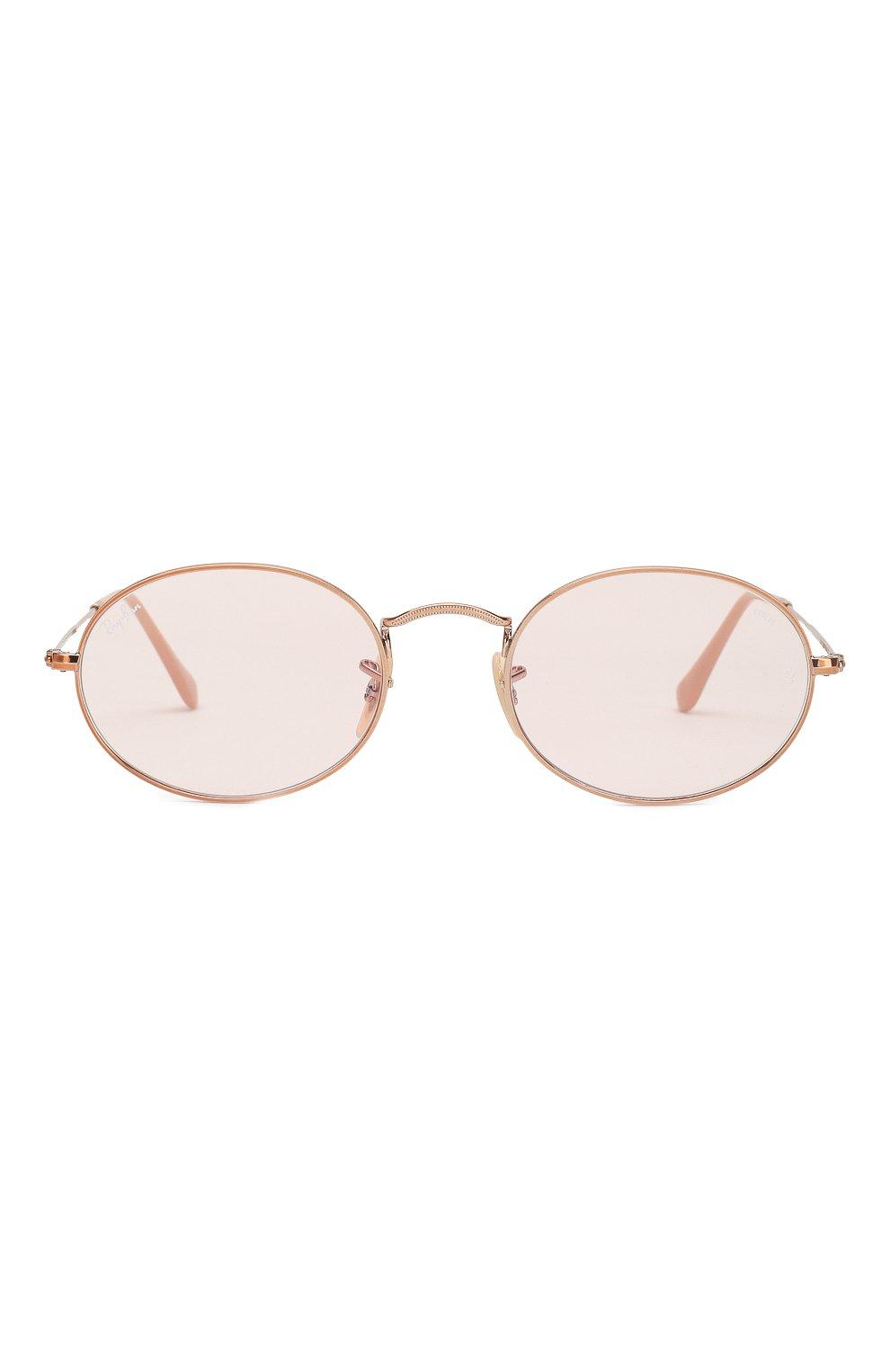 Солнцезащитные очки Ray-Ban розовые   Фото №2