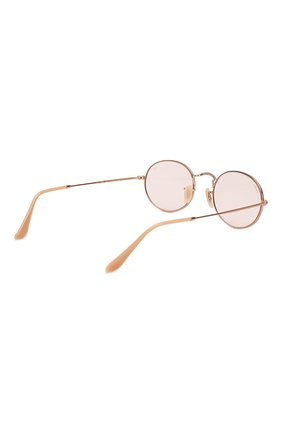 Солнцезащитные очки Ray-Ban розовые   Фото №3