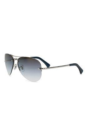 Мужские солнцезащитные очки RAY-BAN синего цвета, арт. 3449-91290S | Фото 1