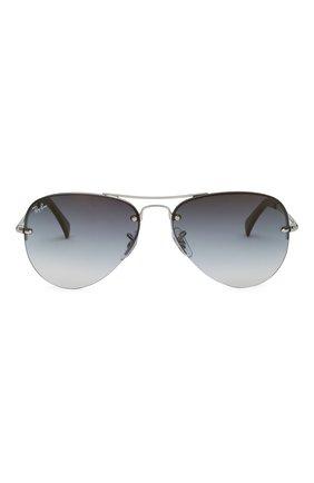 Мужские солнцезащитные очки RAY-BAN синего цвета, арт. 3449-91290S | Фото 2