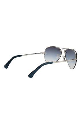 Мужские солнцезащитные очки RAY-BAN синего цвета, арт. 3449-91290S | Фото 3