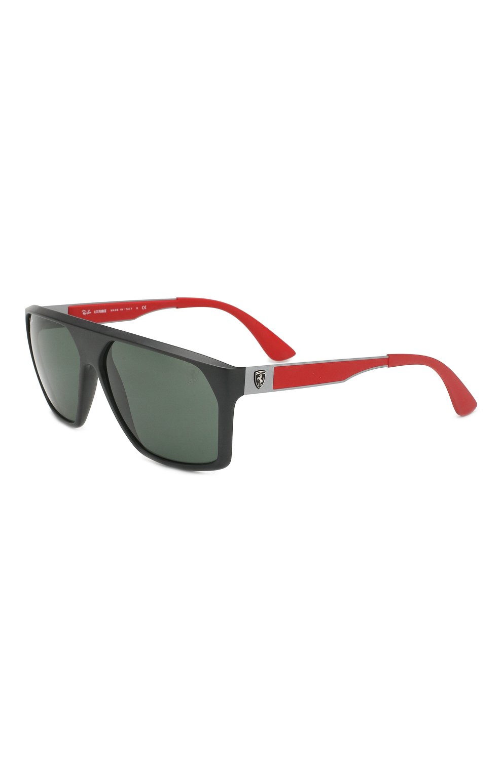 Мужские солнцезащитные очки RAY-BAN черного цвета, арт. 4309M-F60271 | Фото 1