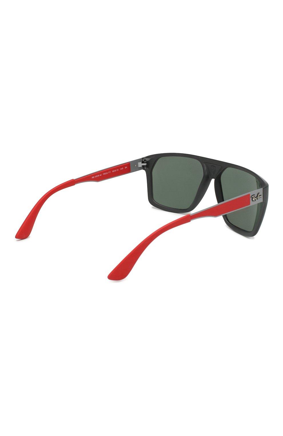 Мужские солнцезащитные очки RAY-BAN черного цвета, арт. 4309M-F60271 | Фото 3