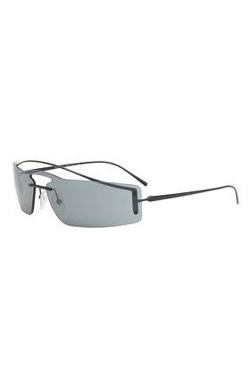 Женские солнцезащитные очки PRADA черного цвета, арт. 61VS-1AB5L0 | Фото 1