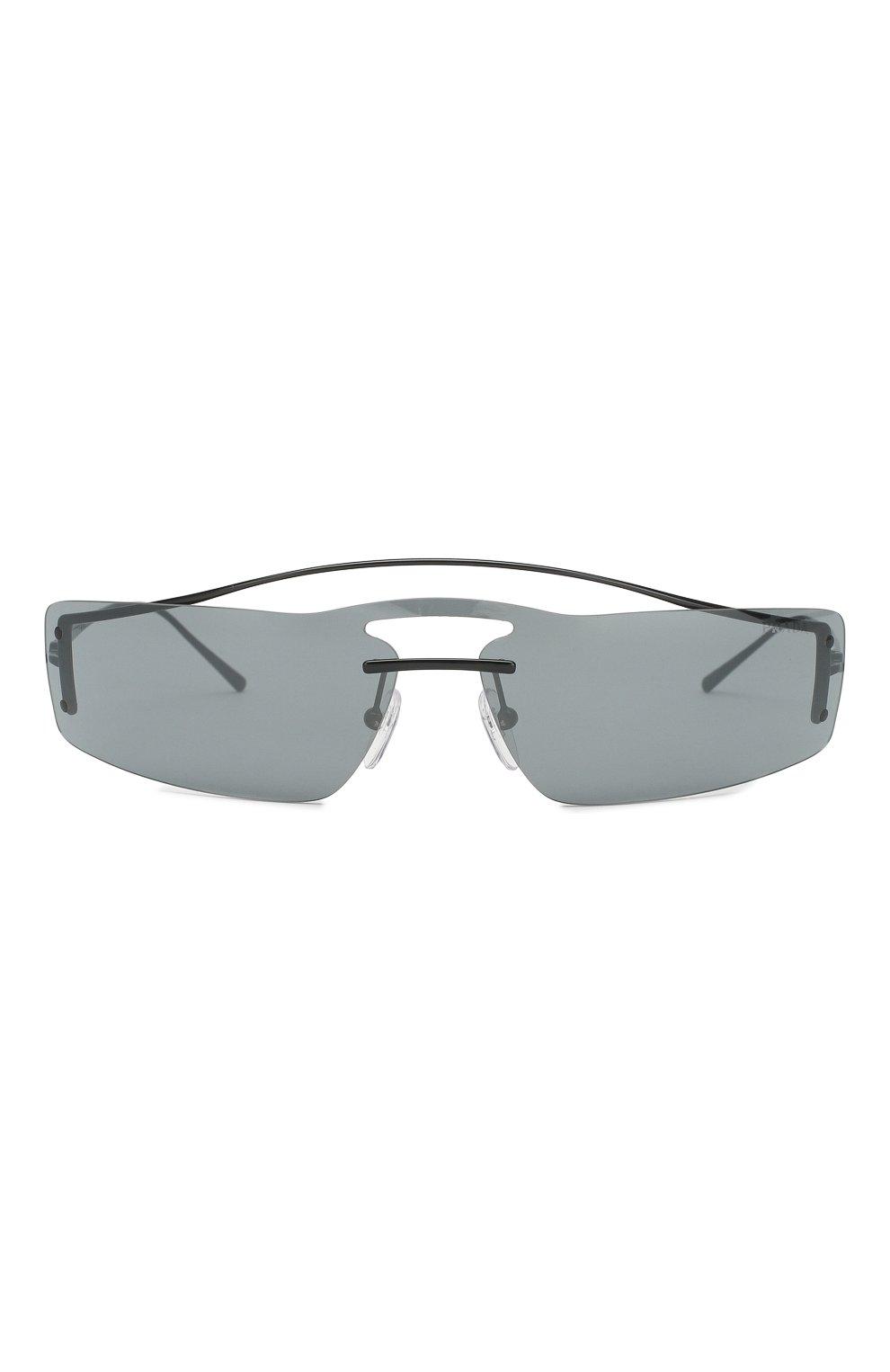 Женские солнцезащитные очки PRADA черного цвета, арт. 61VS-1AB5L0 | Фото 2