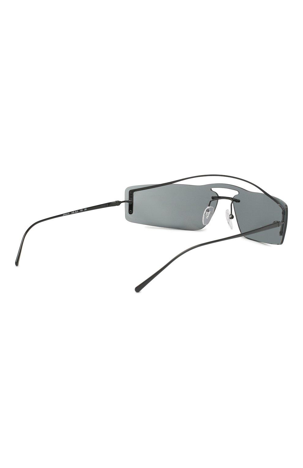 Женские солнцезащитные очки PRADA черного цвета, арт. 61VS-1AB5L0 | Фото 3