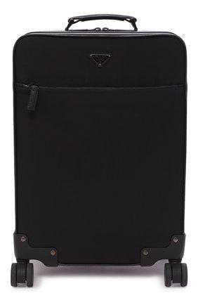 Текстильный чемодан на колесиках | Фото №1