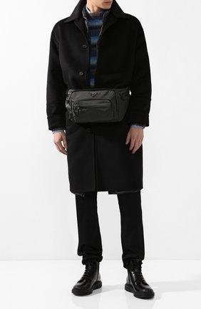 Шерстяное пальто с подстежкой | Фото №2