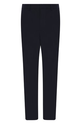 Мужские брюки прямого кроя PRADA синего цвета, арт. SPF94-1KJW-F0124 | Фото 1