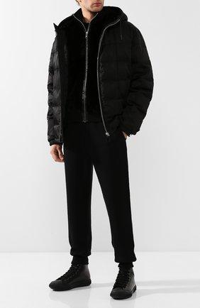 Мужской кашемировый жилет PRADA черного цвета, арт. UMT336-3FG-F0002 | Фото 2
