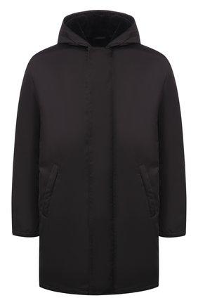 Куртка с внутренней меховой отделкой | Фото №1